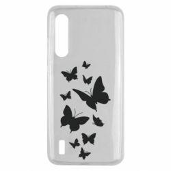 Чехол для Xiaomi Mi9 Lite Many butterflies