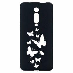 Чехол для Xiaomi Mi9T Many butterflies