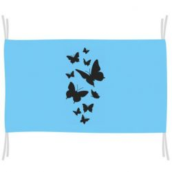 Прапор Many butterflies