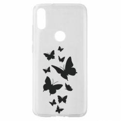 Чехол для Xiaomi Mi Play Many butterflies
