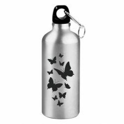 Фляга Many butterflies
