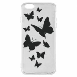 Чохол для iPhone 6 Plus/6S Plus Many butterflies