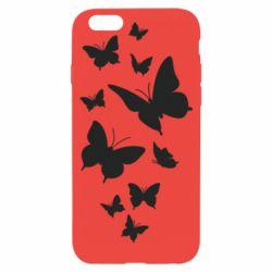 Чохол для iPhone 6/6S Many butterflies