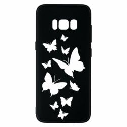 Чохол для Samsung S8 Many butterflies