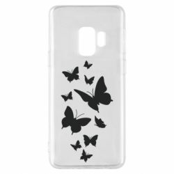 Чохол для Samsung S9 Many butterflies