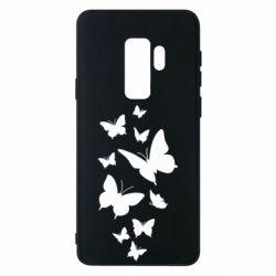 Чохол для Samsung S9+ Many butterflies