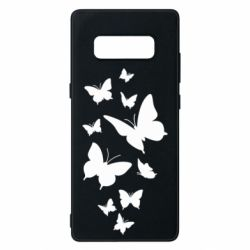 Чохол для Samsung Note 8 Many butterflies