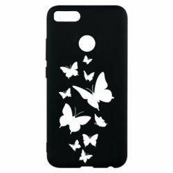 Чехол для Xiaomi Mi A1 Many butterflies