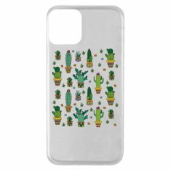Чехол для iPhone 11 Many cacti