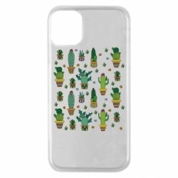 Чехол для iPhone 11 Pro Many cacti