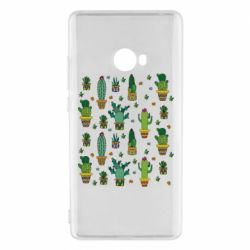Чехол для Xiaomi Mi Note 2 Many cacti