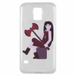 Чохол для Samsung S5 Marceline adventure time