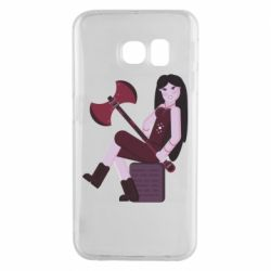 Чохол для Samsung S6 EDGE Marceline adventure time