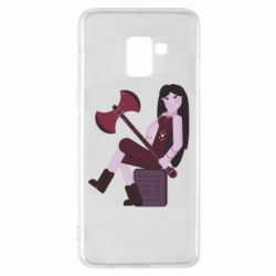 Чохол для Samsung A8+ 2018 Marceline adventure time