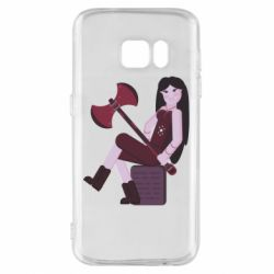 Чохол для Samsung S7 Marceline adventure time