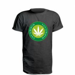 Удлиненная футболка Mari&juana