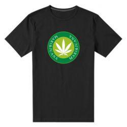 Мужская стрейчевая футболка Mari&juana