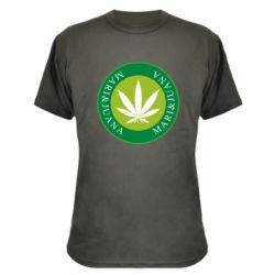 Камуфляжная футболка Mari&juana
