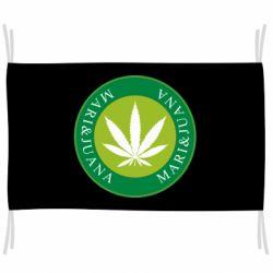 Флаг Mari&juana
