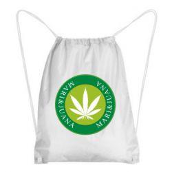 Рюкзак-мешок Mari&juana