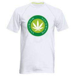 Мужская спортивная футболка Mari&juana