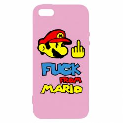 Чехол для iPhone5/5S/SE Mario - FatLine