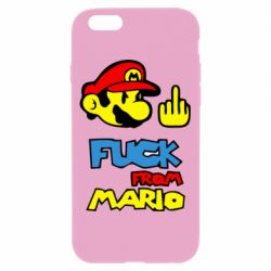 Чехол для iPhone 6/6S Mario - FatLine
