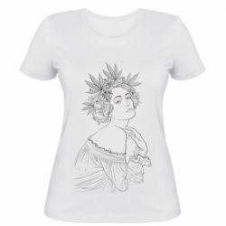 Женская футболка Маривана