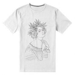 Мужская стрейчевая футболка Маривана