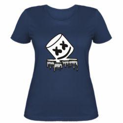 Жіноча футболка Marshmallow melts