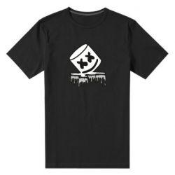 Чоловіча стрейчева футболка Marshmallow melts