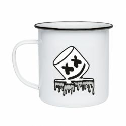 Кружка емальована Marshmallow melts