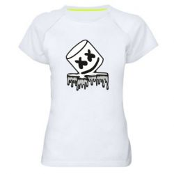 Жіноча спортивна футболка Marshmallow melts