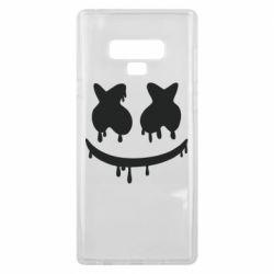 Чехол для Samsung Note 9 Marshmello and face logo