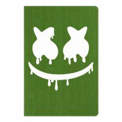 Блокнот А5 Marshmello and face logo