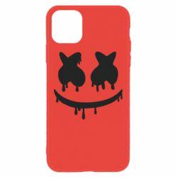 Чехол для iPhone 11 Marshmello and face logo