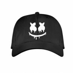 Детская кепка Marshmello and face logo