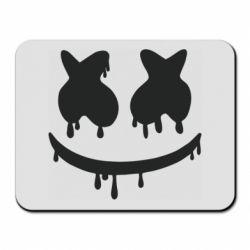 Коврик для мыши Marshmello and face logo