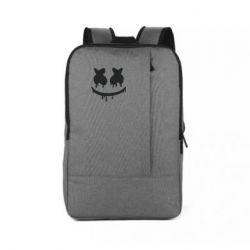 Рюкзак для ноутбука Marshmello and face logo