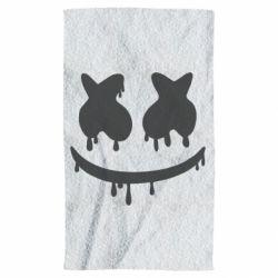 Полотенце Marshmello and face logo