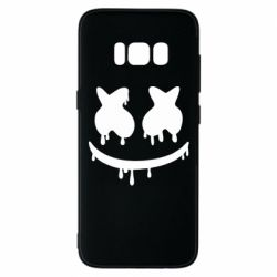 Чехол для Samsung S8 Marshmello and face logo
