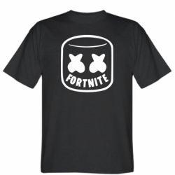 Чоловіча футболка Marshmello and Fortnite