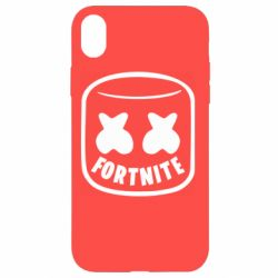 Чохол для iPhone XR Marshmello and Fortnite