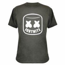 Камуфляжна футболка Marshmello and Fortnite