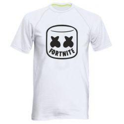 Чоловіча спортивна футболка Marshmello and Fortnite