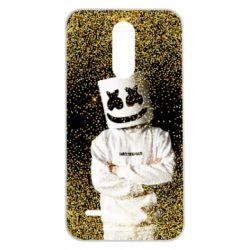 Чехол для LG K7 2017 Marshmello Dj and gold - FatLine