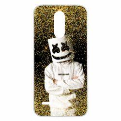 Чехол для LG K8 2017 Marshmello Dj and gold - FatLine