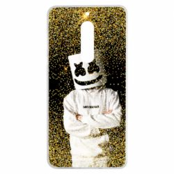 Чехол для Nokia 5 Marshmello Dj and gold - FatLine