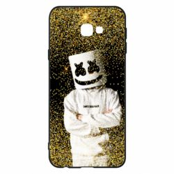 Чехол для Samsung J4 Plus 2018 Marshmello Dj and gold - FatLine