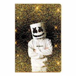 Блокнот А5 Marshmello Dj and gold - FatLine